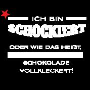 Lustiger Spruch T Shirt Geschenk Schokolade Schock Manner Premium T