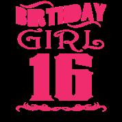 Verjaardag Meiden 16 Jaar.Verjaardag Meisje 16 Jaar Oud Mannen Premium T Shirt