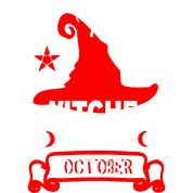 Real witches are born in October bday funny saying