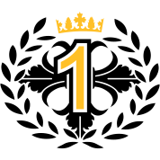 The Number One with a laurel wreath and crown