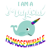 Magical Homosexwhale - Gay Pride