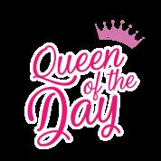 Queen Of The Day Geburtstag Bday Von Shirtoholics Spreadshirt