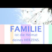 Familie Schöne Sprüche Zitate Deutsch Pusteblume Untersetzer 4er Set Weiß
