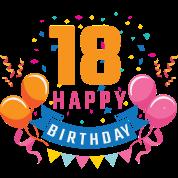 18th Birthday 18 Years Happy Birthday Gift Men S T Shirt Spreadshirt