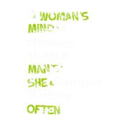 A Womans Mind Is Clean Sayings Funny Quotes Mens Premium T