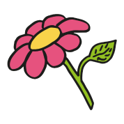 Flor de Clipart, idea de regalo