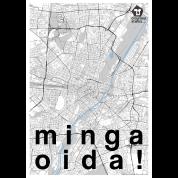 München Karte Schwarz Weiß.München Stadt Karte Schwarz Weiß Minga Oida Männer Premium T Shirt Schwarz