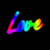 love rainbow lettering by boom manufaktur spreadshirt