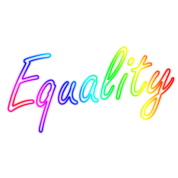 equality rainbow lettering by boom manufaktur spreadshirt