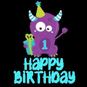 1st Birthday, 1st Birthday Baby T-Shirt | Spreadshirt