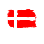 Denmark Flag Motif Danish Flag Drawing By Pepperminz Spreadshirt