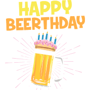Gelukkige Beerthday Verjaardag Bier Cadeau Mannen Premium T Shirt