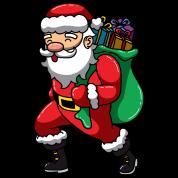 Weihnachtsmann Sankt Nikolaus Mit Geschenken Schürze Spreadshirt