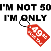 50ste Verjaardag 50 Jaar Humor Grap Cadeau Vrouwen Premium T Shirt