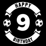 9 Geburtstag Fussball Jungs Happy Birthday Kinder Premium T