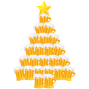 Bier Weihnachtsbaum.Bier Weihnachtsbaum Schürze Spreadshirt