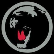 tee shirt panthere noir logo face cartoon dessin spreadshirt