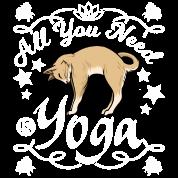 Katze Yoga Lustige Spruche Buttons Klein Spreadshirt