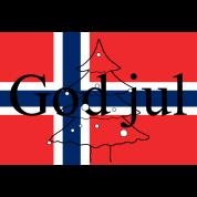 Frohe Weihnachten Norwegisch.Frohe Weihnachten Norwegisch God Jul Jersey Beanie Grau Meliert