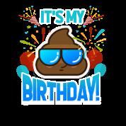 Geburtstag Emoji Kindergeburtstag Party Geschenk Von Bestseller Tees