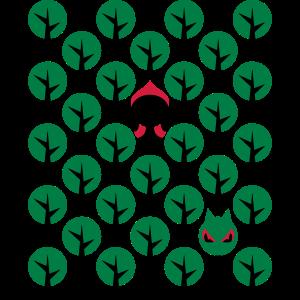 Fairytale - Märchen - Rotkäppchen - Wolf - Grafik