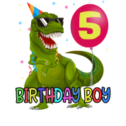 5 Geburtstag Junge T Rex Dinosaurier Geschenk Iphone 7 8 Hulle