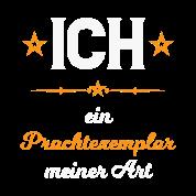 Macho Sprüche Selbstverliebt Prachtexemplar Witzig Sporttasche Schwarz