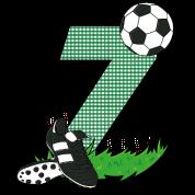 Geburtstag 7 Jahre Fussball Fussballspieler Snapback Cap Spreadshirt