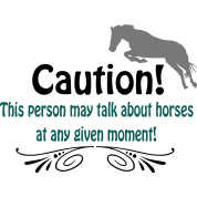 Funny horse quote