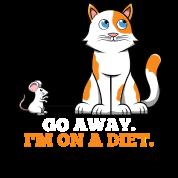 Gattino Del Gattino Del Disegno Del Mouse Di Dieta Del Gatto