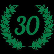 Krans 30e Verjaardag Mok Spreadshirt