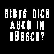 Gibts Dich Auch In Hübsch Diss Sprüche Frauen Premium Tank Top Schwarz