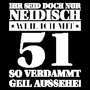 '51. Geburtstag Lustiger Spruch Geschenk' Rucksack ...
