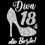 Diva The Best Friend Gift 18th Birthday Men S Premium T Shirt Spreadshirt
