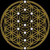 The Tree Of Life Kabbalah Gold Sacred Geometry Judaism Protection Symbol Sticker Vinyl Bumper Sticker Decal Waterproof 5