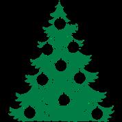Weihnachtsbaum Weihnachten.Weihnachtsbaum Weihnachten Weihnachtskugeln Frauen Premium T Shirt Grau Meliert