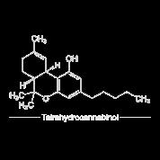 Thc Tetrahydrocannabinol Chemische Formel Stoffbeutel