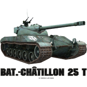 World of Tanks Bat.-Châtillon 25T Men Hoodie
