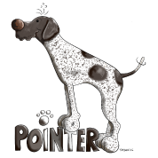 Cute German Shorthaired Pointer