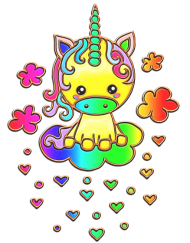 Kawaii Rainbow Unicorn Squishy - Slow Rising – SquishyWishy