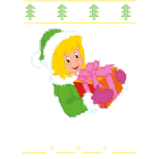 Bibi Blocksberg Ugly Sweater Design