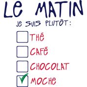 citation matin plutot the cafe moche cho
