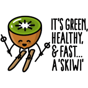 It's green healthy and fast: a skiwi - Skiën Kiwi