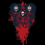 Skull Sketch Massacre Mouse Pad Spreadshirt