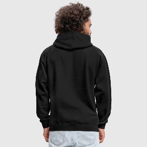Contrast Colour Hoodie - Back