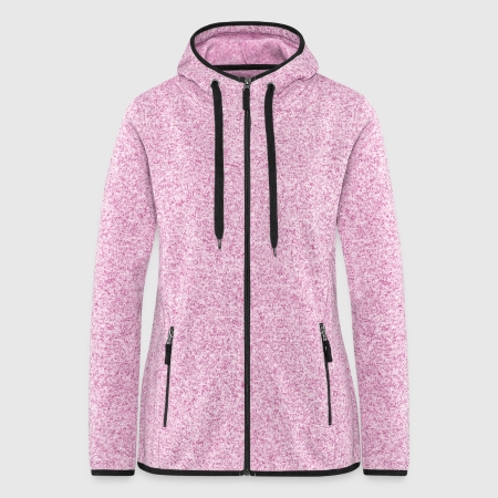 Women's Hooded Fleece Jacket - Front