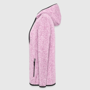 Women's Hooded Fleece Jacket - Left