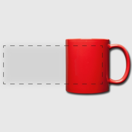 Full Colour Panoramic Mug - Front