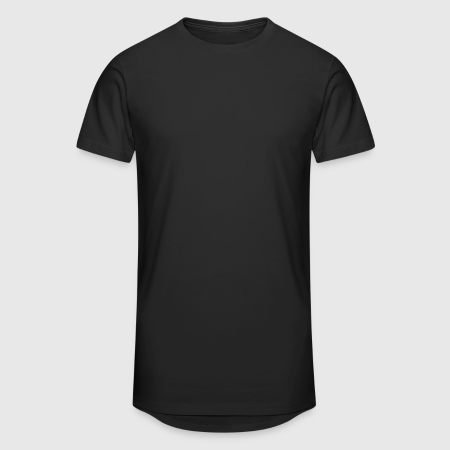 Men's Long Body Urban Tee - Front