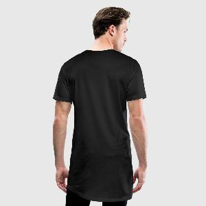 Men's Long Body Urban Tee - Back